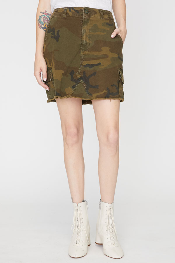 Remix Skirt – Camo