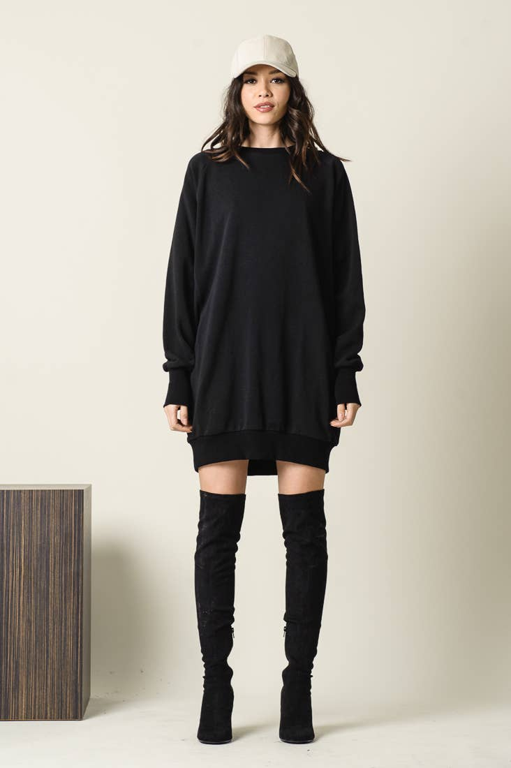 Cece Sweatshirt Dress