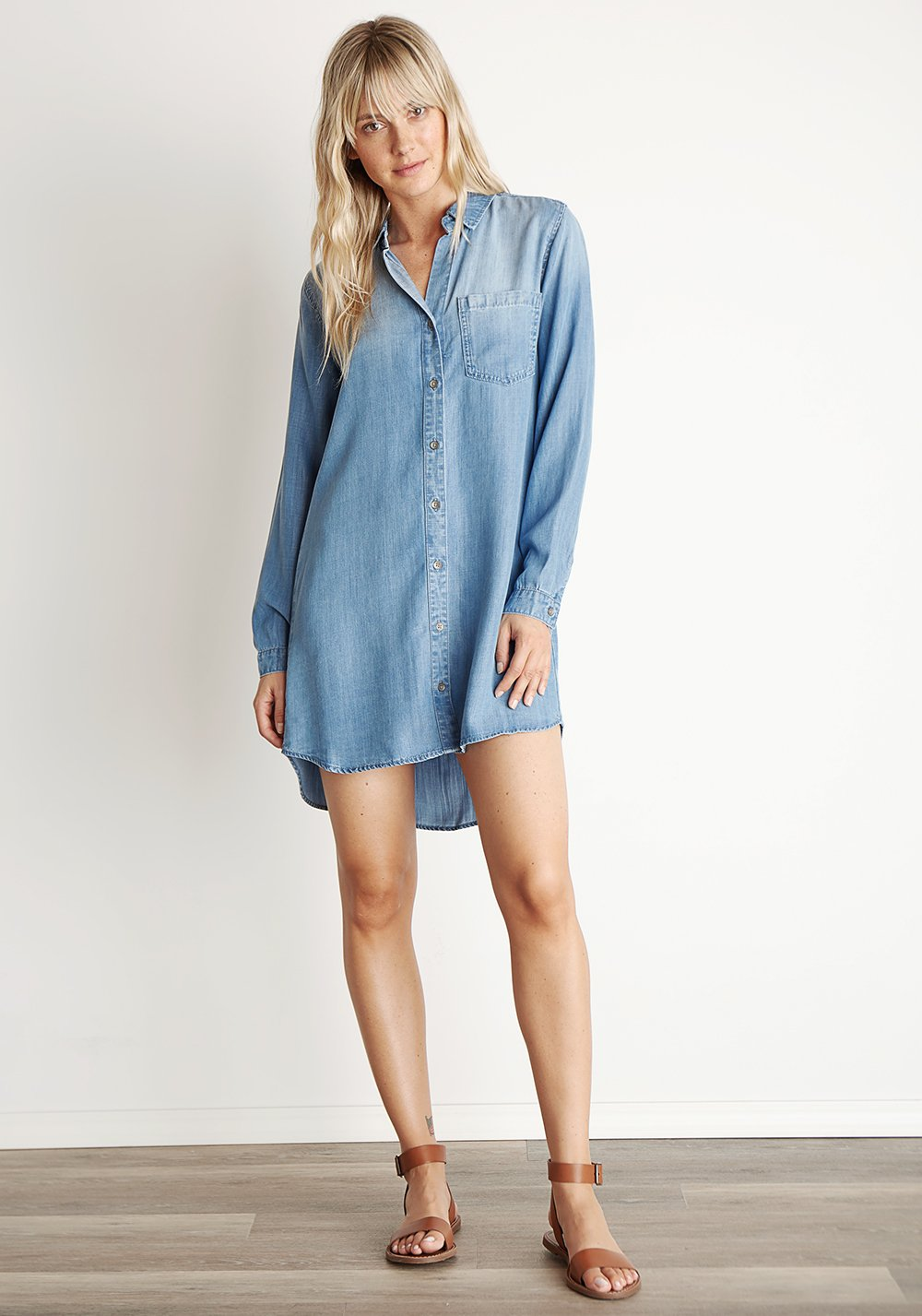 Bella Dahl Pocket Shirt Dress