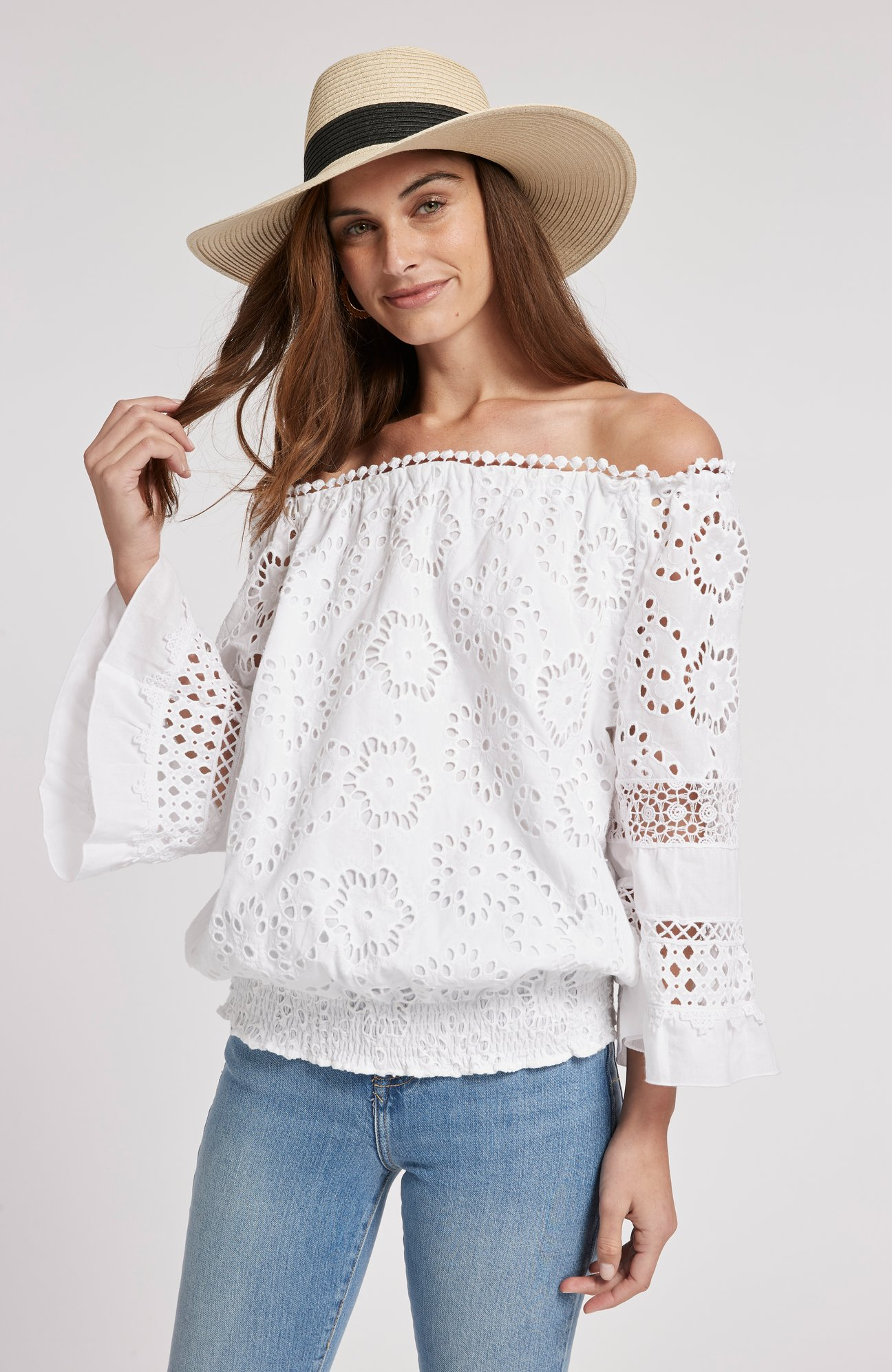 Claire Off-The-Shoulder Top