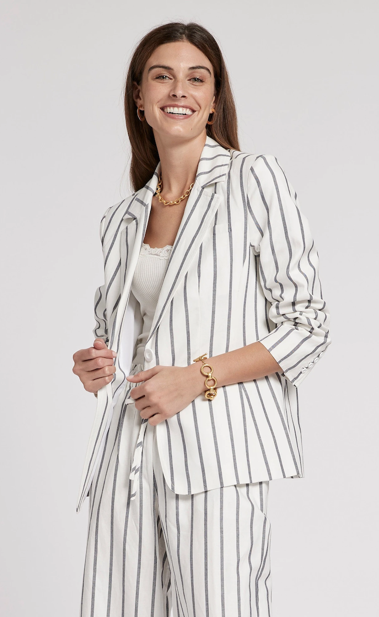 Cooper Stripe Jacket